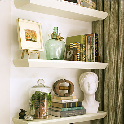 living room bookshelf decorating ideas repisas flotantes blogminga 21270